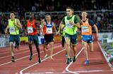 Adam Kzsczot winning the 800m at the 2014 IAAF Diamond League meeting in Stockholm (H&A Sjogren)