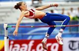 Montenegro's Marija Vukovic sails over 1.91m to win World Junior High Jump gold (Getty Images)