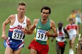 Domingos Castro at the 1995 IAAF World Cross Country Championships (Getty Images)