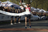 Souad Ait Salem successfully defends her title at the Hannover Marathon (Organisers)