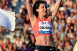 Anna Chicherova, winner of the high jump at the IAAF Diamond League meeting in Lausanne (Victah Sailor)