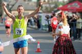 Matej Toth wins at the 20km race walk at the 2014 Dudinska patdesiatka  (Martin Havran - SITA)