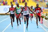 Mo Farah wins the 10,000m at the 14th IAAF World Athletics Championships Moscow 2013 (Getty Images)