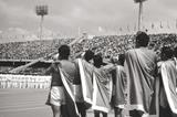 The opening ceremony of the 1968 Olympic Games in Mexico City (Getty Images)