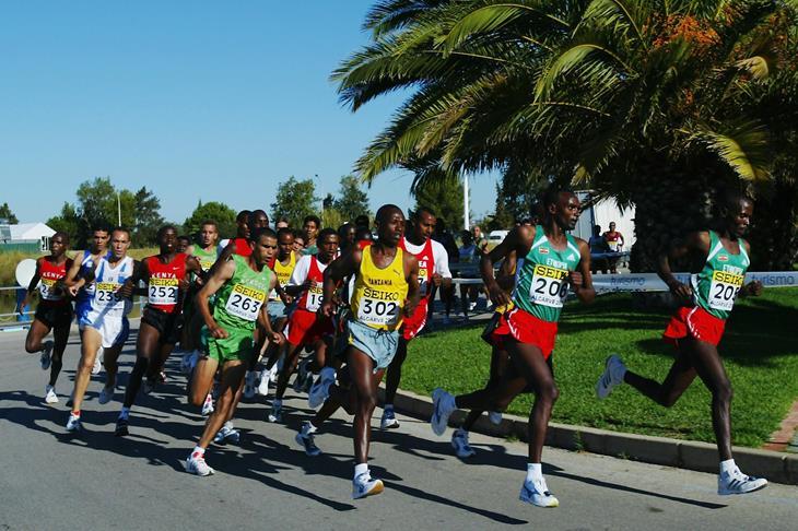 The world half marathon championship 2003 in Portugal ()